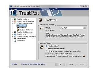 Vylepšená verze TrustPort Security.