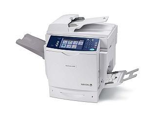 Multifunkční zařízení pro pracovní skupiny Xerox WorkCentre 6400.