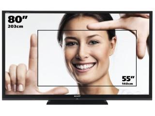 TV Aquos LC-80LE645E
