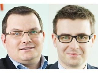 Vlevo Lukáš Raška a Jiří Kropáč