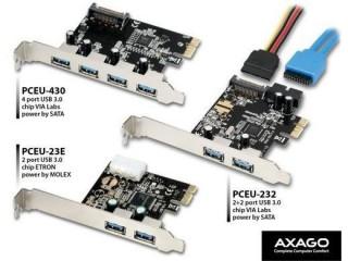 PCEU USB adaptéry