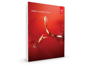 Krabicová verze Adobe Acrobat XI