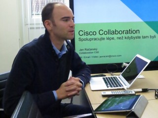 Jan Račanský, Consulting System Engineer Telepresence and Video Sales