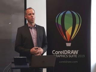 Klaus Vossen, hlavní produktový manažer CorelDRAW