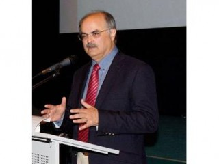 David Giareta, ředitel APA hovoří na konferenci CNZ