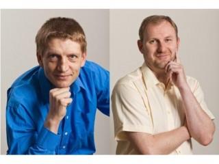 Vladimír Diatka, ředitel divize ERP a Boris Bělousov, ředitel divize CRM společností Dynamica a Gemma Systems (SK)