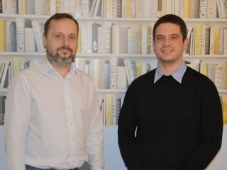Zleva Vladimír Váňa a Miroslav Kořen