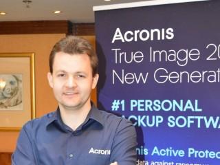 Nikolaj Grebennikov, vedoucí výzkumu a vývoje řešení Acronis