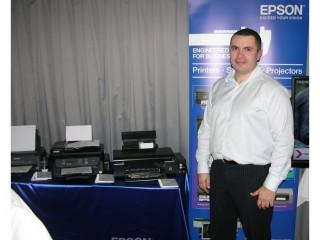 Marcel Divín, business account manager ve společnosti Epson