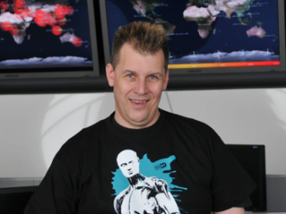 Righard Zwienenberg, analytik a výzkumník Esetu