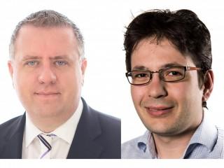 Zleva Aleš Dvorák a Štěpán Feik