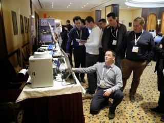 O praktické ukázky dohledových technologií byl velký zájem