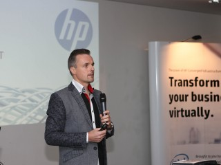 Jiří Lepka, x86 servers & converged infrastructure category manager, HP