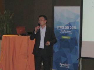 Vic Hsu, ředitel společnosti Synology