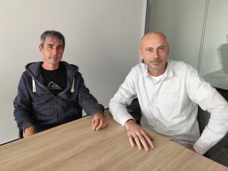 Zleva Michael Jirák (konzultant HPE BU) a Roman Komorný (account manager HPE BU)