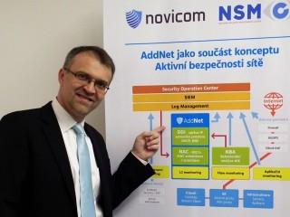 Jindřich Šavel, obchodní ředitel společnosti Novicom