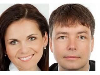 Andrea Čižmářová Zavadilová (marketingová ředitelka) a Tomáš Machalínek (ředitel)