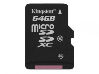 Kingston paměťová karta microSDXC Class 10