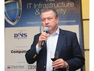 Igor Tomeš, ředitel divize IT infrastruktury společnosti DNS