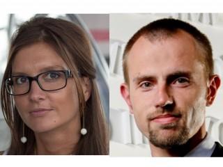 Lucie Orlovská a Robert Janásek z Lenova