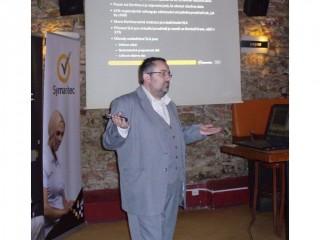 Petr David ze Symantecu představuje prostředky pro zálohování dat