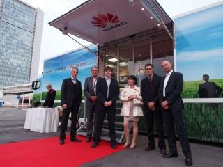 Představitelé Huawei, vlevo Jak Kašpar, Channel Sales Manager Enterprise Business Unit, vpravo Tomáš Brouček, obchodní manažer