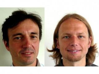 Tomáš Reizer (vlevo) a David Buřič z Lenova