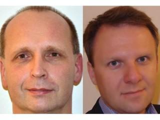 Luděk Vyhnalík, obchodník pro oblast Commercial a Michal Kováč, TAR ve společnosti Symantec