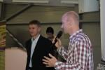 Vlevo Vladimír Prinke, obchodní ředitel společnosti eD´ system Czech, vpravo Daniel Vondráček, marketingový ředitel eD´system Czech
