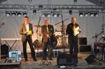 Jiří Kysela, Evžen Varadinek a Stanislav Skalička na pódiu