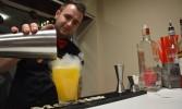 Ve VIP zóně se připravoval také speciální 100Mega drink