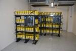 Záložní akumulátory pro případ výpadku elektřiny