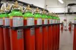 Zásobníky speciálního plynu pro případ požáru