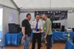 Petr Zajíček z Dellu (uprostřed)