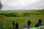 Mušku si návštěvníci vyzkoušeli střelbou