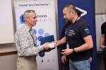 Vyhlášení nejlepších partnerů roku - zástupce společnosti ABB