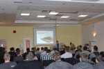 Přednášky probíhaly před zaplněným sálem