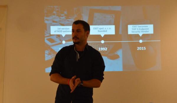 Ignacio Sbampato představuje historii i současnost Esetu