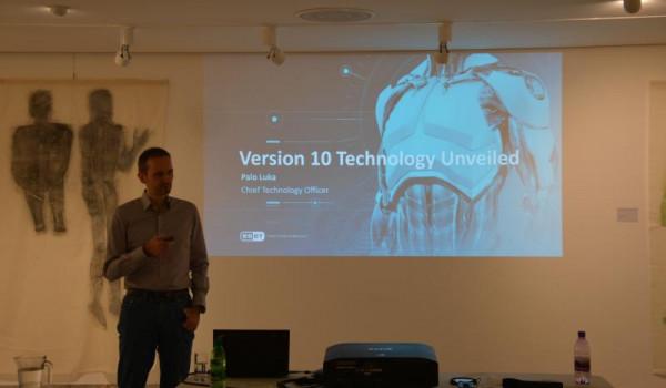 Palo Luka hovoří o technologicíh řady 10