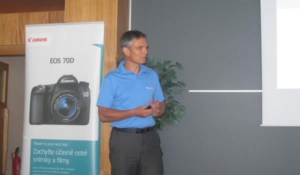 Pavel Šerý, produktový specialista pro foto/video