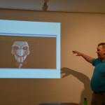 Righard Zweinenberg přednáší o aktuálních hrozbách
