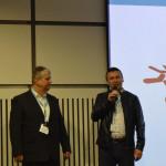 Petr Janda z Veracompu přebírá cenu za Distributora roku