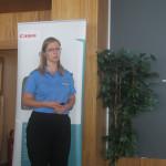 Patrícia Královičová, product business development manager, office personal products