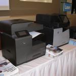 HP Officejet Pro X576 a HP Officejet Enterprise Color MFP X585