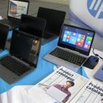 Uprostřed HP EliteBook Revolve 810 X2