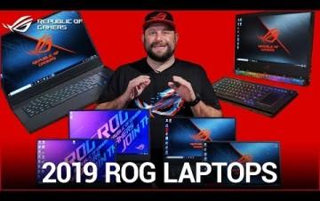 Embedded thumbnail for ASUS ukázal herní notebooky ROG s architekturou NVIDIA Turing a procesory Intel Core 9. generace