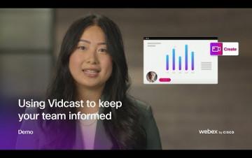 Embedded thumbnail for Vidcast od Cisca přináší nové možnosti asynchronní komunikace