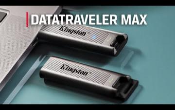Embedded thumbnail for Přelomový flashdisk DataTraveler Max USB 3.2 Gen 2