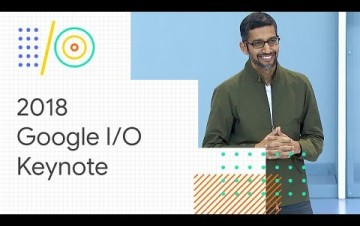 Embedded thumbnail for Keynote z Google I/O 2018