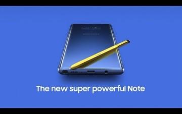 Embedded thumbnail for Představení Samsungu Galaxy Note9